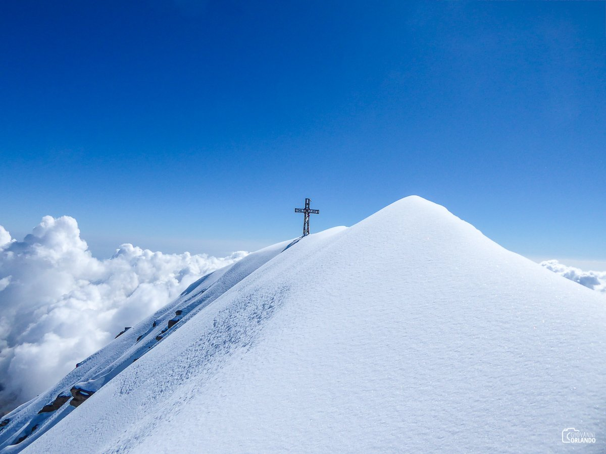 Ancora pochi metri e saremo in cima al Monviso!