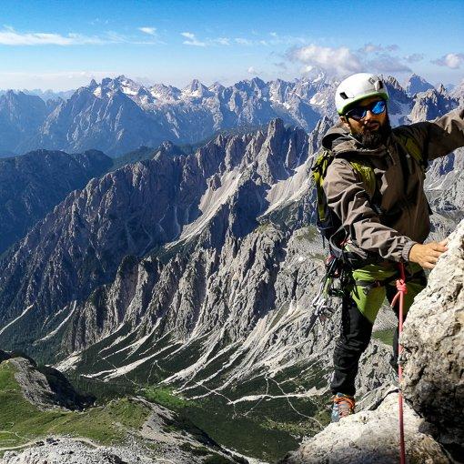 cima Piccola di Lavaredo 510 | Giovanni Orlando Guida Alpina