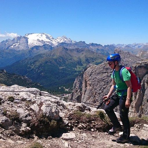 ferrata Alpini Col dei Bos 510 | Giovanni Orlando Guida Alpina