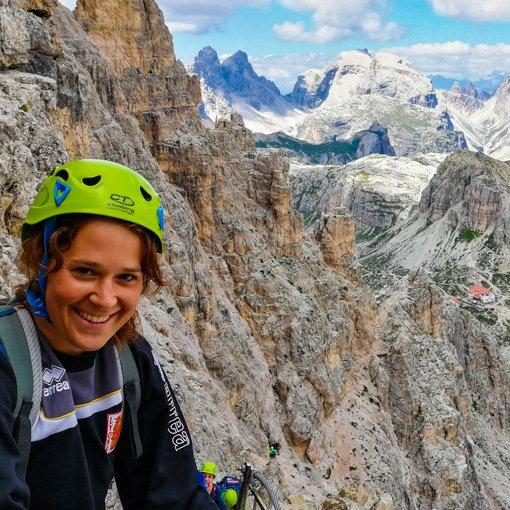 ferrata Monte Paterno Dolomiti Guida Alpina 510 | Giovanni Orlando Guida Alpina