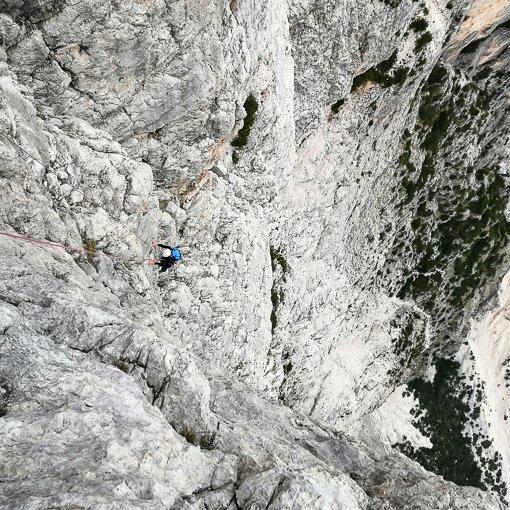 Dimai Punta Fiames Pomagagnon 510 | Giovanni Orlando Guida Alpina