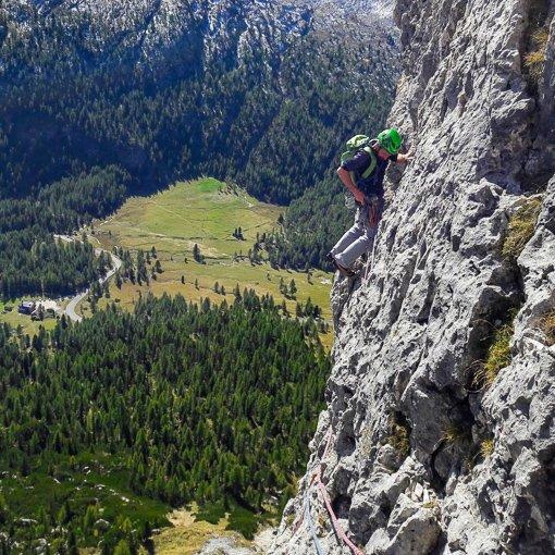 Torre Grande di Falzarego Didona 510 | Giovanni Orlando Guida Alpina