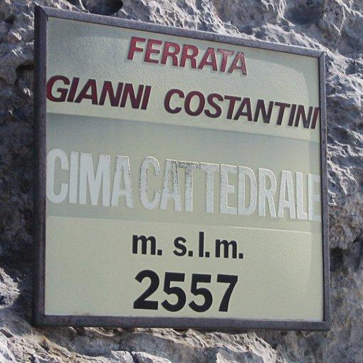 Ferrata Costantini Moiazza 510 | Giovanni Orlando Guida Alpina