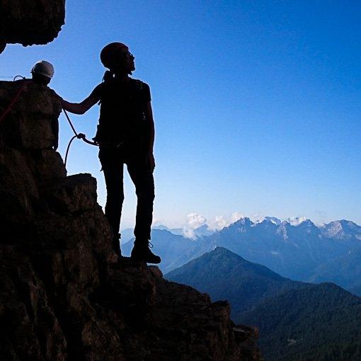 Monte Pelmo via normale cengia Ball 510 | Giovanni Orlando Guida Alpina