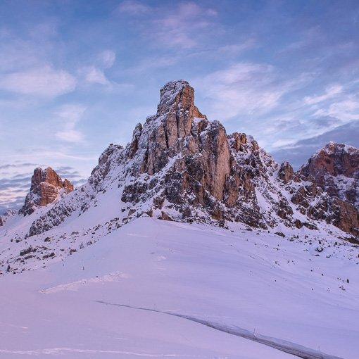 Ciaspolata dolomiti passo giau 510 | Giovanni Orlando Guida Alpina