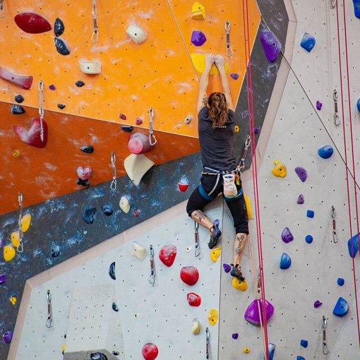 Corso base arrampicata indoor Sportler Silea Treviso 510 | Giovanni Orlando Guida Alpina