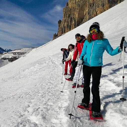 Ciaspolata alle Tre Cime di Lavaredo (in Dolomiti, Patrimonio Mondiale UNESCO)
