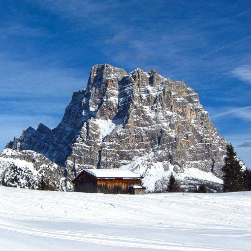 giro sciistico skitour Grande Guerra Dolomiti 510 | Giovanni Orlando Guida Alpina