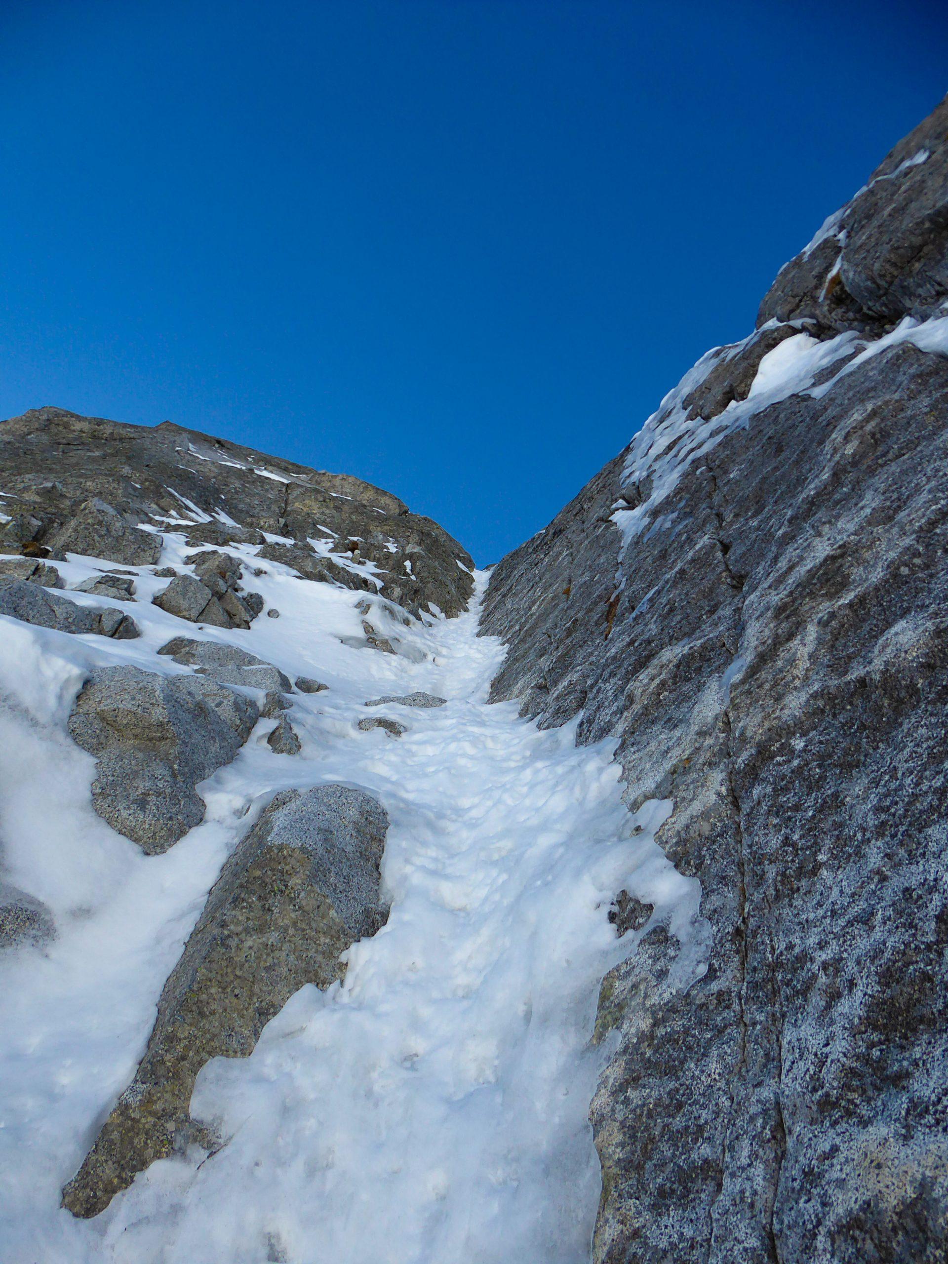 Monte Nero di Presanella – Clean Climb - Il magnifico quarto tiro