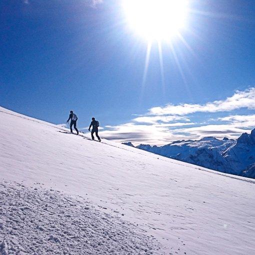 corso base sci alpinismo Dolomiti 510 | Giovanni Orlando Guida Alpina