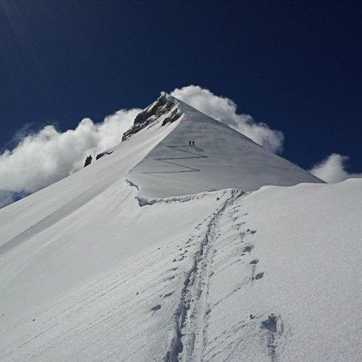 Scialpinismo Guida Alpina Dolomiti Forca Rossa San Pellegrino